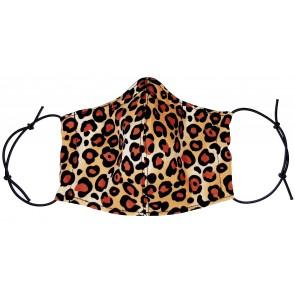 Face Mask - Leopard Natural
