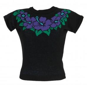 Daphne Jumper - Hibiscus Hunny - Black/Purple