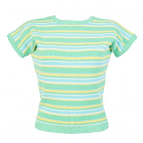 Daphne Jumper - Stripes - Lemon & Lime