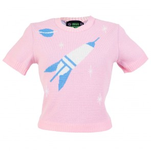 Bobbie Jumper - Space Age - Pink