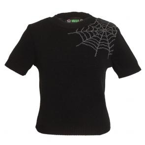 Bobbie Jumper - Spider Web - Liquorice