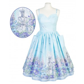 Suzie Sweetheart Dress - English Garden