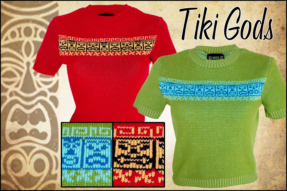 Tiki Gods!